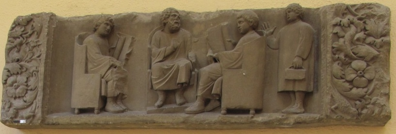 Romans discussing