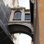 Side alley on Capitoline  - bridge between buildings