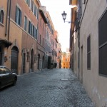 A modern Roman street  - Modern by Ancient Roman standards...