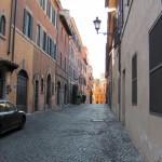 A modern Roman street  - Modern by Ancient Roman standards...