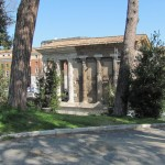 Temple of Portunus - In the Forum Boarium, site of ancient Roman cattle market