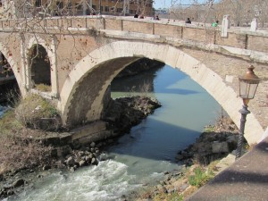 Roman bridge from 76BC