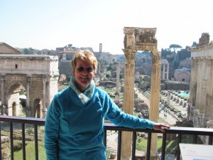 Me and Forum Romanum