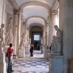Corridor of statues