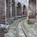 The complete underground passageway system