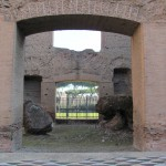 Archway with mosaics