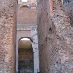 Vomitorium  (escape passageway)