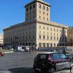A contrast Renaissance palazzo