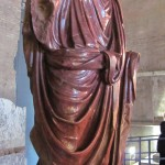 Lovely toga folds (inside Curia)