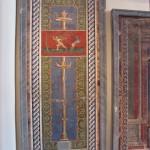 Candelabra mosaic from Pompeii