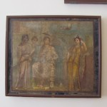 Painted panel from Pompeii