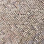 Herrigbone floor pattern