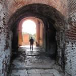 Entrance archway, theatre