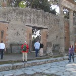 Entrance to Forum Triangolare