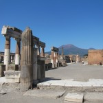 Forum and Vesuvius