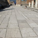 Paving in the forum