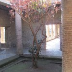 Villa dei Misteri - internal open air courtyard