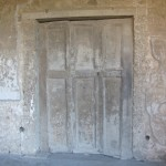 Villa dei Misteri - cast of a wooden door