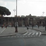 Arriving in Rome