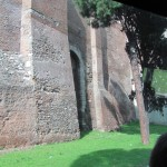 A glimpse of the fabulous Aurelian walls