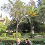 St Sebastian Catacombs garden