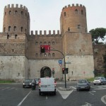 Porta San Sebastiano, formerly Porta Appia