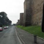 The Aurelian Walls, close-up and personal