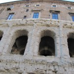 Teatro Marcello with apartments on top