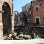 Portico Ottavia, Temple of Augustus, Teatro Marcello