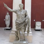 Octavian as he became Augustus