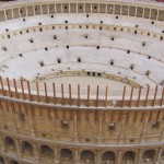 Model of Colosseum, reconstructed