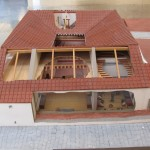 Reconstruction of an aristocratic house on Via Sacra 530-520BC