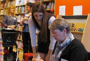 SilverWood Books Open Day: talking
