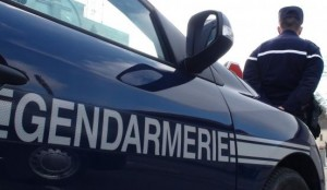 Gendarmerie vehicle