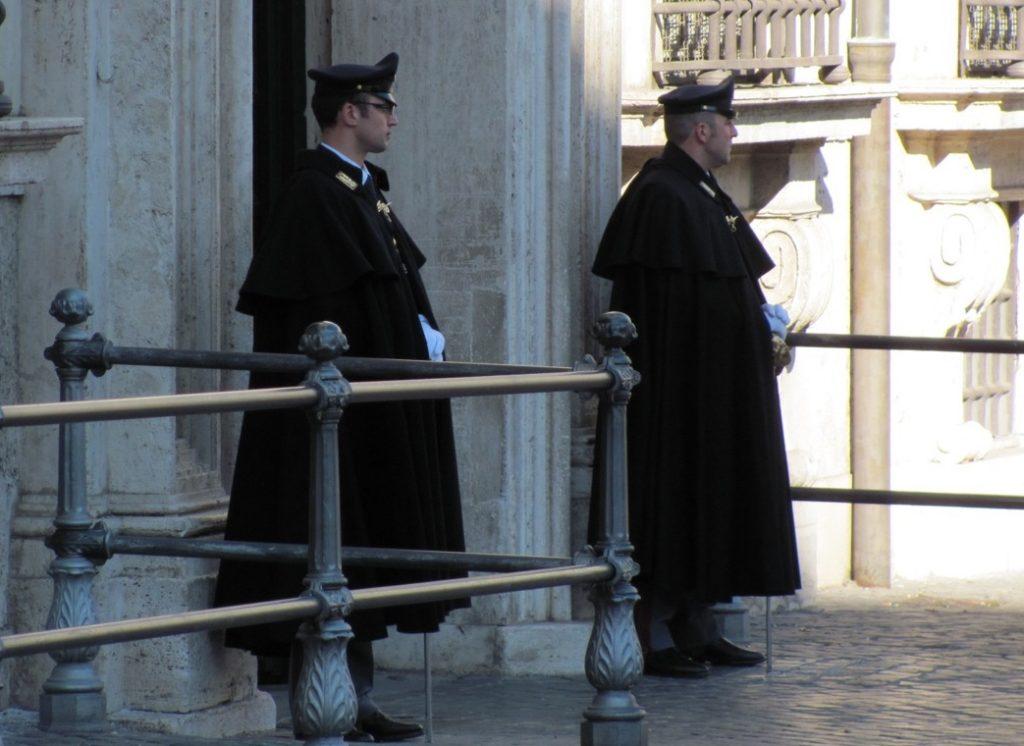 Modern Roman cops