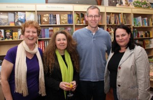 With Christina Courtenay, Andy Rossiter and Liesel Schwarz