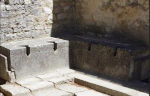 Roman loos at Vaison