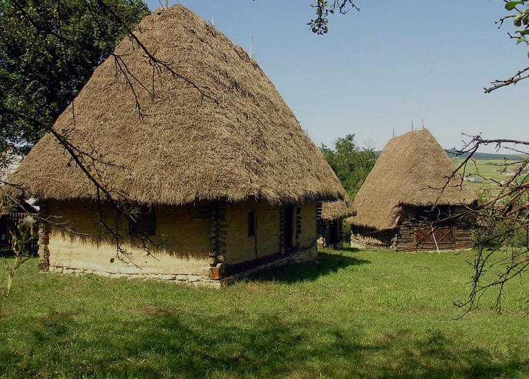 Central European peasant house