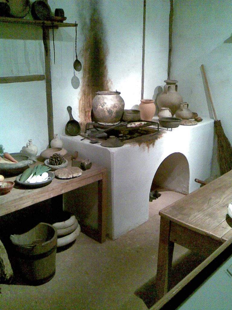Roman kitchen, Museum of London