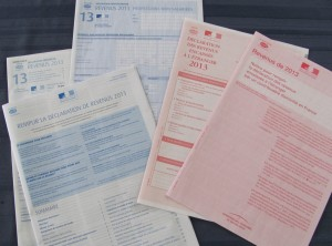 Image result for French tax return