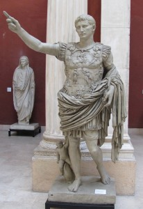 Augustus, National Museum of Roman Civilisation, Rome (Author photo)