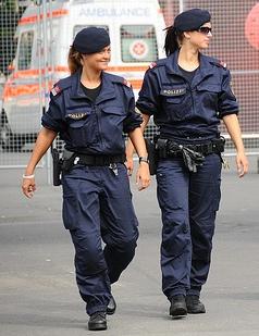Custodes - present day Roma Novan police