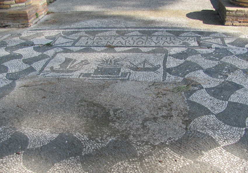 Ostia Antica: Chandler's floor (Author photo)