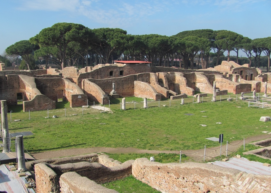 Ostia Antica forum (Author photo)