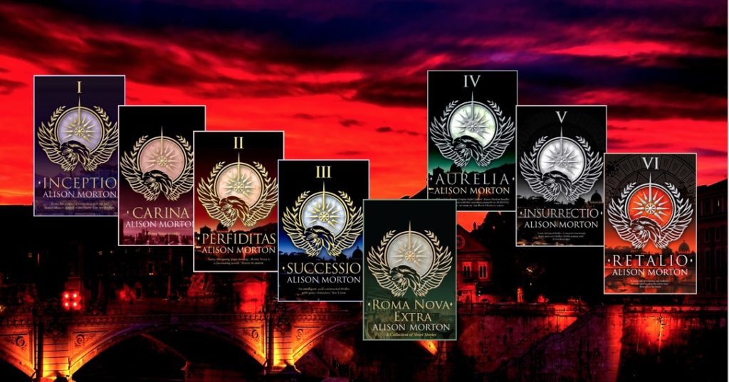 The Roma Nova series covers