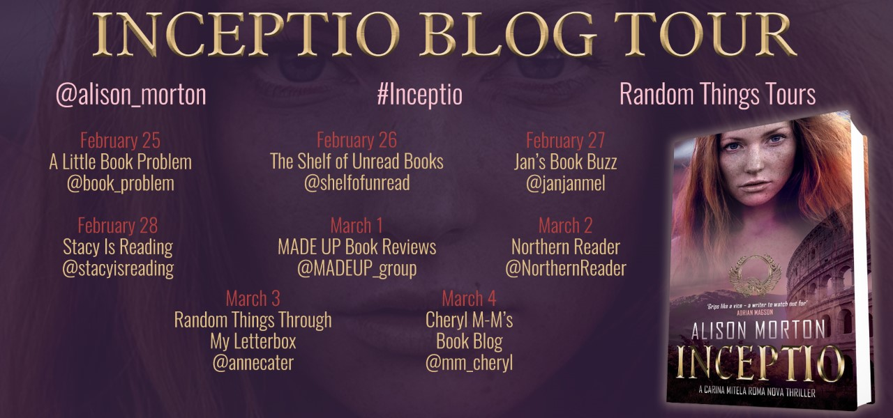 INCEPTIO goes on a blog tour in its new clothes!