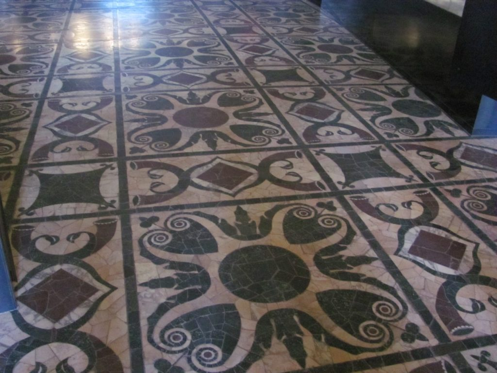 Curia Julia, floor (Author photo)
