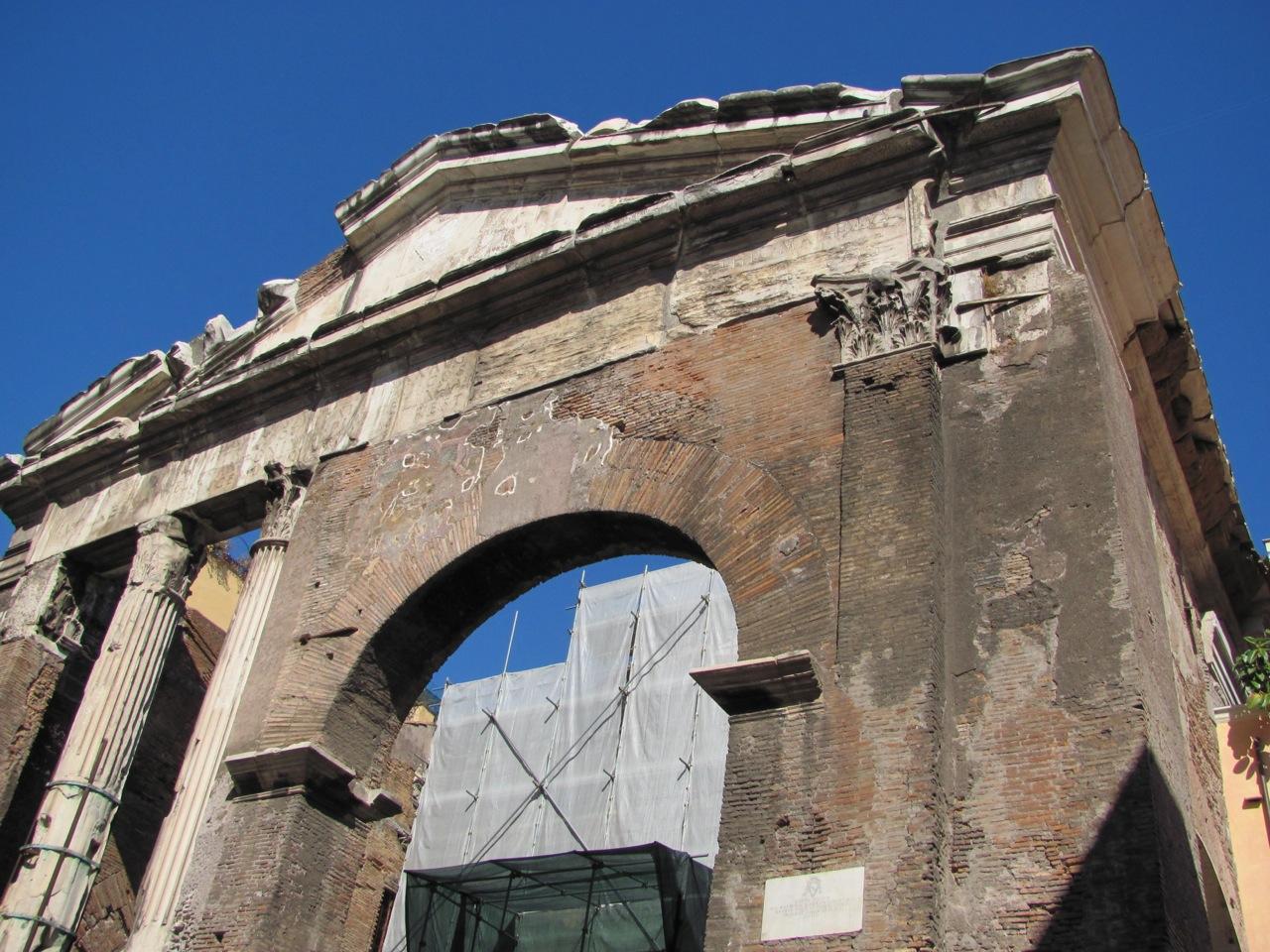 Silent Sunday – Porticus Octaviae, Rome