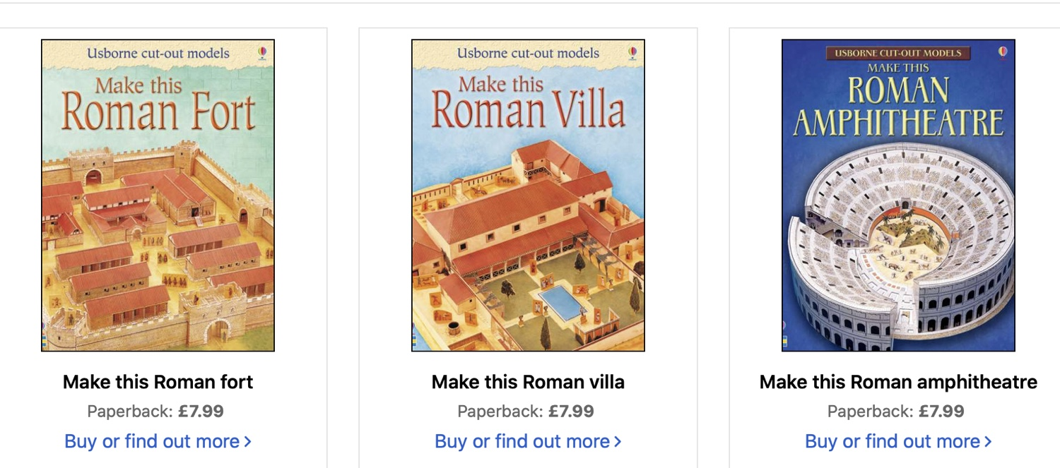 Bored little Romans at home?