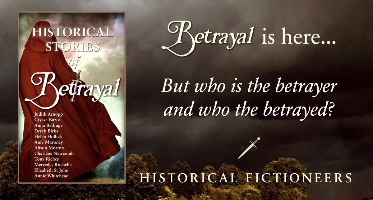 Betrayal is officially published!